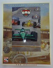 1999 Indianapolis 500 Official Program Kenny Brack A.J. Foyt Power Team Racing