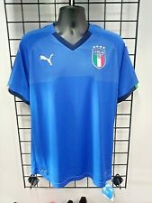 PUMA 2018 ITALY HOME JERSEY (752281 01) SIZE MENS X-LARGE