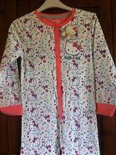 Hello Kitty Girls Kids Pyjames Age 11-12 Years White New 100% Cotton New