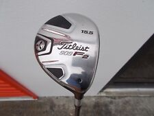 TITLEIST 909F 15.5 Fairway ALDILA VooDoo S FLEX - QUALITY DESIGN / LIVE!