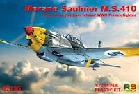 MORANE MS-410 C1 (ILMAVOIMAT/FINNISH AF & FRENCH AF MKGS)#92195 1/72 RS MODELS