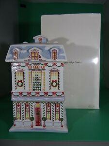 Lenox Village Christmas Cookie Jar