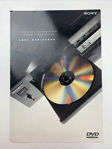 Sony CD / DVD Player Consumer Guide DVP-S7000