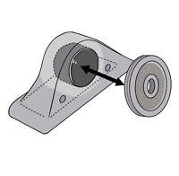 Kleine Magnetverschluss Latch 2 Stück Acryl Kunststoff Plexiglas transparent