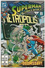 ACTION COMICS #684 SUPERMAN VS DOOMSDAY COVER 9.2 NM-