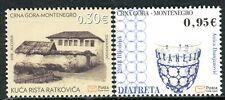 287 MONTENEGRO 2018 - Historical Heritage - MNH Set