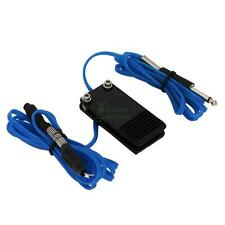 New Combo A-line Tattoo Machine Power Supply Foot Pedal with Clip Cord Blue B-39