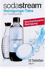 SodaStream Pastiglie per la Pulizia Bottiglie 10 Unità