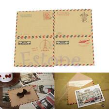 10 Pcs Vintage Mini Envelopes for Postcard Letter Paper Stationery Storage Paper