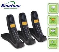 GENUINE ORIGINAL BINATONE LIFESTYLE TRIPLE DIGITAL CORDLESS TELEPHONES 1910 NEW