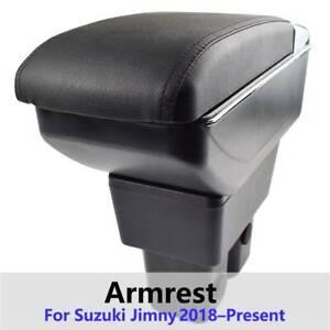 Armrest Central Console Storage Box For Suzuki Jimny JB74 2019 2020 2021 Leather