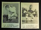 1954 Carling Black Label Beer Cleveland Browns U PICK Len Ford Mike McCormack