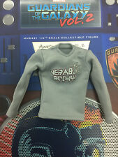 Hot toys galaxy of the guardians Star Lord MMS421 Deluxe - 1:6  grey shirt