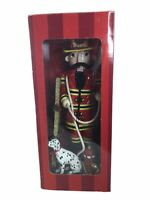 NEW IN BOX FIREMAN NUTCRACKER BOMBAY TOYS CHRISTMAS DALMATION DOG NIB