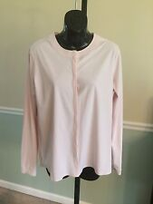 Lululemon Solo Pale Pink Long Sleeve Snap Front Shirt -6