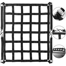 Truck Bed Cargo Net Cam Buckle 500kg/1100lb Reinforced Strong Packing Pro