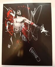 Wrestle Crate UK AJ Styles exclusive hand-signed autograph WWE TNA NJPW ROH