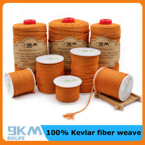 High Strength Braided Kevlar Line Climbing Sport Emergency Rope Made with Kevlar