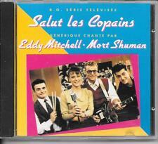CD ALBUM BOF/OST 10 TITRES--SALUT LES COPAINS--EDDY MITCHELL & MORT SHUMAN