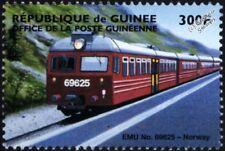 Norwegian State Railways NSB Class 69 EMU (Electric Multiple Unit) Train Stamp