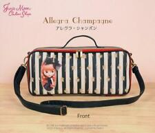 Neo Blythe Doll Figure Carry Bag Pouch Allegra Champagne limited Stripe New F/S
