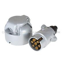 7 Pin - Aluminum Plug and Socket Set - Trailer