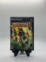 Without Warning PS2 Complete CIB Tested Sony Playstation 2 Ps2 Game Good Capcom