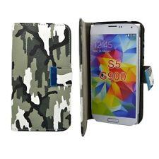 Custodie portafoglio verde per Samsung Galaxy S5