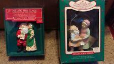 Hallmark 1986-87 Santa and Mrs. Clause Series