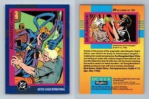Elongated Man #49 DC Cosmic Teams 1993 Skybox Trading Card