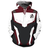 Avengers 4 Endgame Quantum Realm Hoodies 3D Print Men's Hooded Sweatshirts Tops