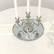 Spiegel rund 30cm als Untersetzer für Kerzenständer Kerzenleuchter , Platzteller