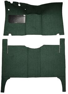 1952-1954 Ford Customline 4 Door Sedan Complete Replacement Loop Carpet Kit