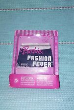 2007~Barbie~FASHION FEVER SEPARATES~ Denim/White & Silver Mini Skirt ~K8456