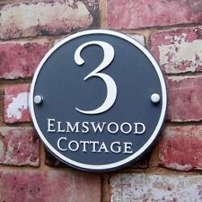 House Name Contemporary Decorative Plaques & Signs