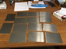20 gauge Stainless steel sheet metal scrap  (Grade 304/316) (15 pcs)