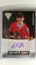 2011-12 Panini Titanium Brandon Saad Draft Day RC Auto 99/99 LAST ONE