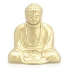 Japanese Kamakura Daibutsu Buddha Paperweight Golden Metal Statue/ Display