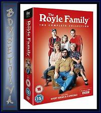 THE ROYLE FAMILY - THE COMPLETE COLLECTION  **BRAND NEW DVD BOXSET **