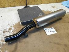 kawasaki ninja lh left exhaust pipe muffler can oem stock zx600e zx600 zx6 93