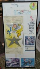 Woody Woodpecker Collage - Includes Signed Payroll Check by Walter Lantz