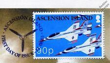 USAF THUNDERBIRD F-16 Aircraft Stamp FDC (100 Years of Powered Flight)