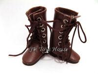Brown Boots D12 fits blythe 1/6 dollfie Plus pullip