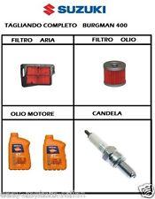 TAGLIANDO BURGMAN 400 K7 FILTRO ARIA OLIO CANDELA CR7E