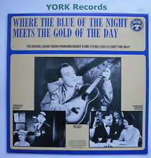 BING CROSBY - Where The Blue Of The Night ... - Ex LP Record Biograph 9199 508