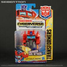 ENERGON AXE ATTACK OPTIMUS PRIME Transformers Cyberverse Power Spark Warrior New