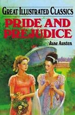 Great Illustrated Classics: Pride and Prejudice by Jane Austen Hardcover NEW