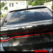 Rear Roof Spoiler Window Wing (Fits: Dodge Dart 2013-newer) SpoilerKing
