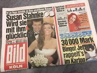 Bildzeitung vom 29.05.1999 * 18. 19. 20. Geburtstag Geschenk * Susan Stahnke