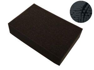 Rasterschaumstoff Koffereinlage Weichschaumstoff ca.50x40x3cm, 64102-Raster-30